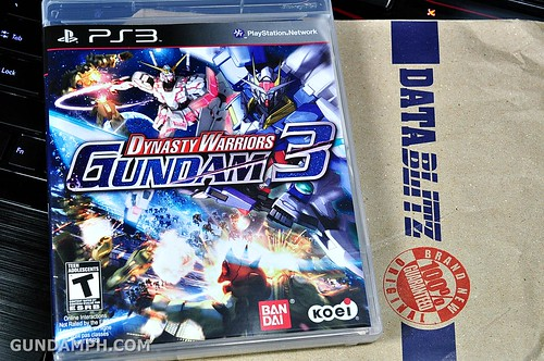 new haul DYNASTY WARRIORS GUNDAM 3 (1)