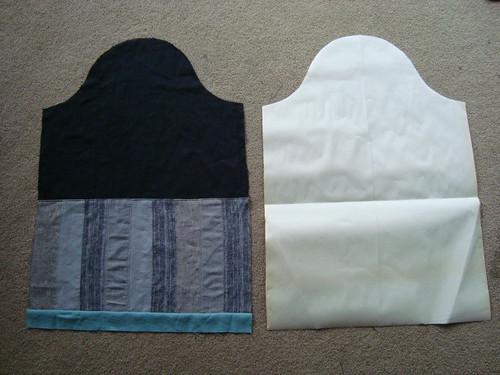 Caligari's coat - sleeves