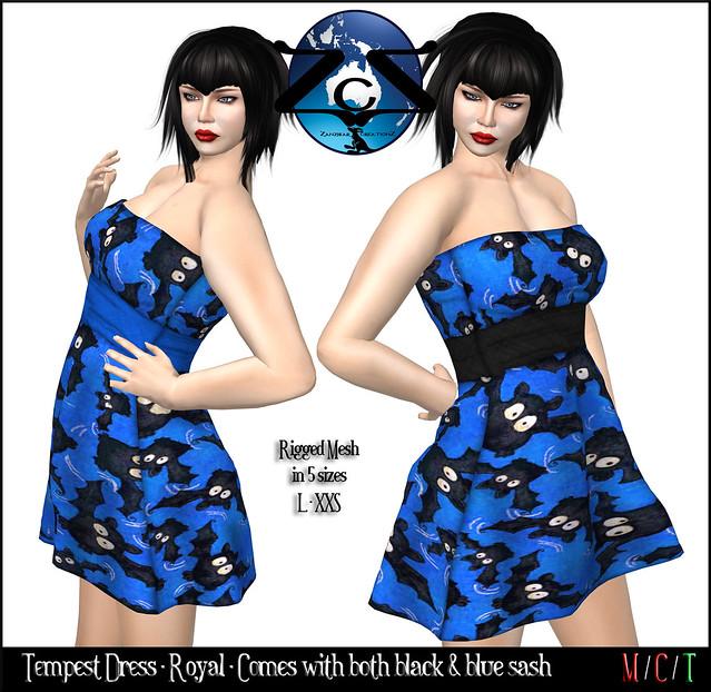 ZcZ Tempest Dress - Royal
