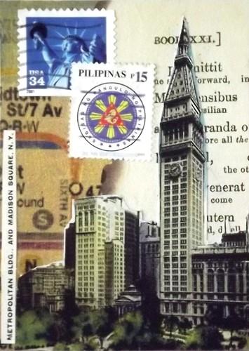 ATC: Book Page & A Stamp ATC Swap