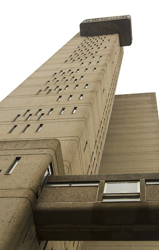 Trellick Tower From Below 2