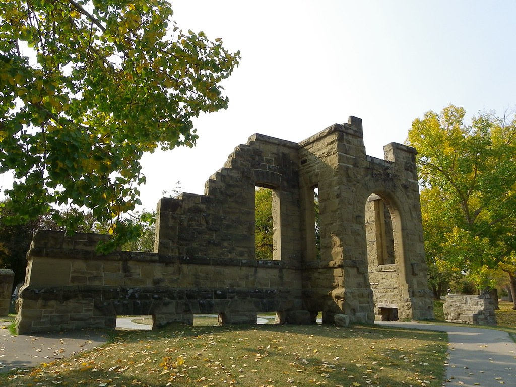 Haunted Places in Calgary Rundle Ruins