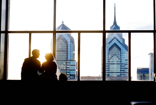 skyline silhouette by Lily M-C