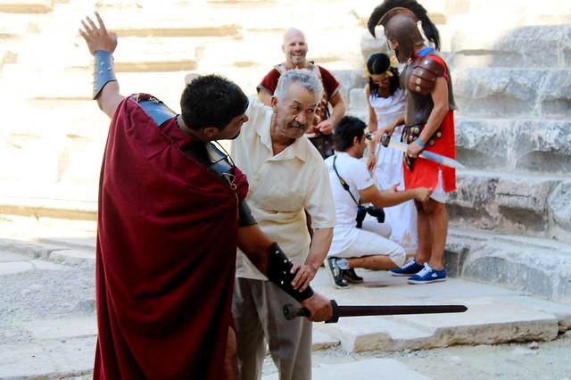 Gladiator at Aspendos