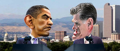Barack Obama v Mitt Romney Denver Debate