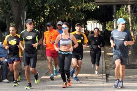Nahila Hernandez entrenamiento RunMX