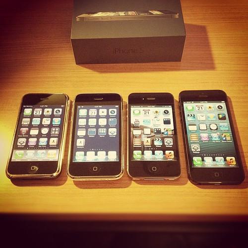 iPhone Original/3G/4/5