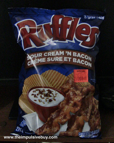 Ruffles Sour Cream 'n Bacon
