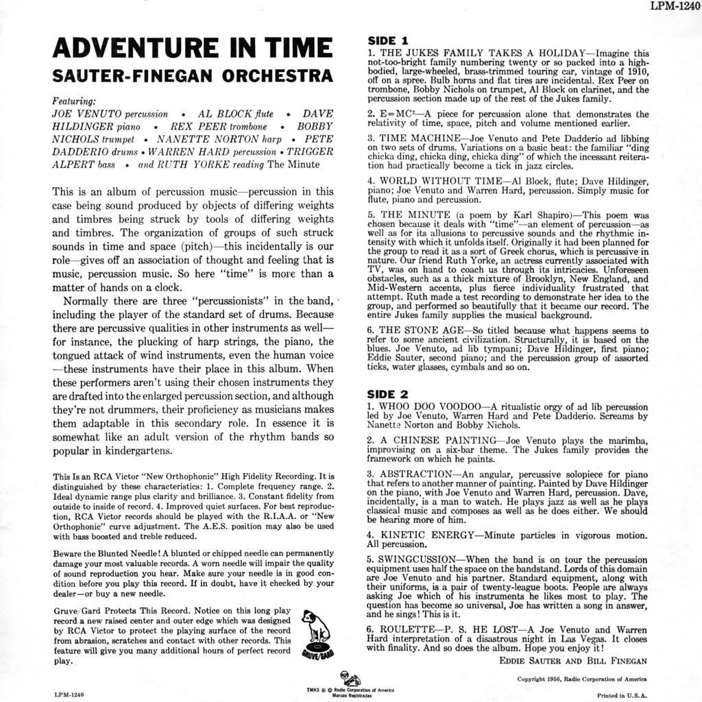 The Sauter-Finegan Orchestra - Adventure in Time