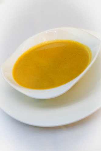 Pumpkin Soup with Pistachio Oil