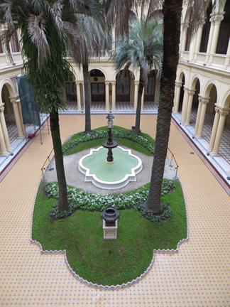 Casa Rosada patio