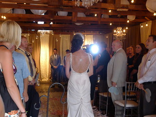 Katie Walks Down the Aisle