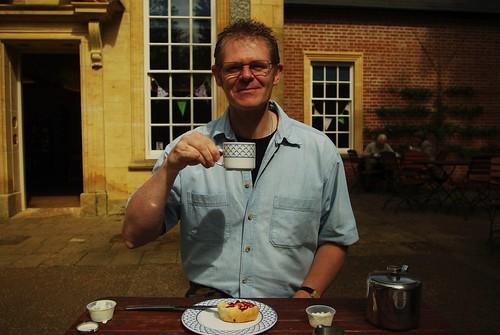 20120831-02_Cream Tea_Me - Myself - Yours Truly - I = Gary Hadden by gary.hadden