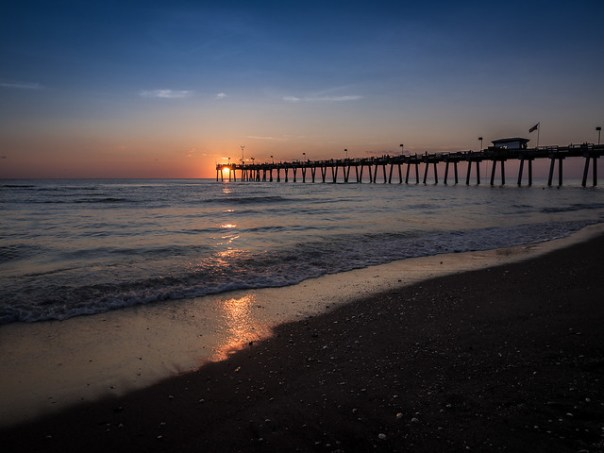 Venice Pier at Sunset