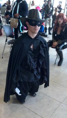 Short Zorro at Baltimore Comic-Con