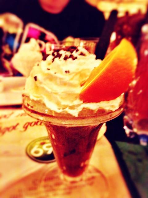 Deserted the dessert