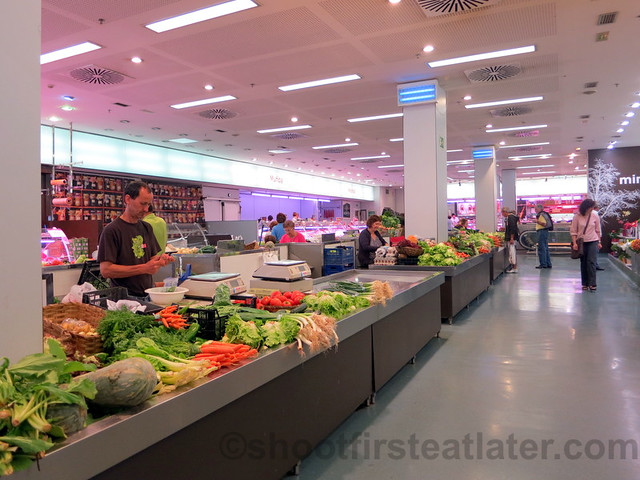 supermarket in San Sebastian - veggies