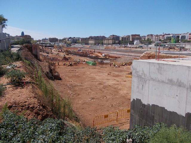 Trabajos arqueológicos en zona puente del trabajo - 01-09-12