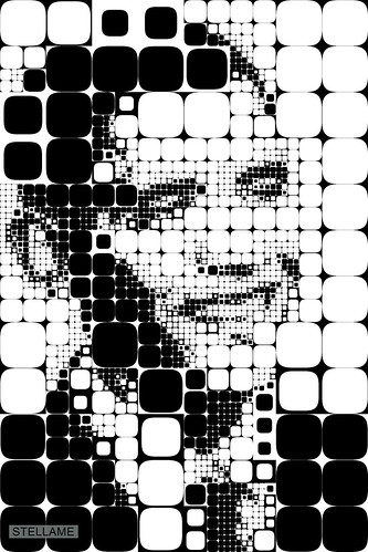 Obama in Squares by StellaMe