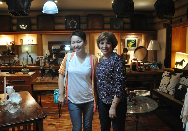 Meeting my Flickr friend's mom