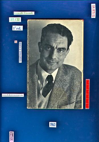 Italo Calvino, La speculazione edilizia, Einaudi 1963. i coralli 189. Quarta di sovracoperta