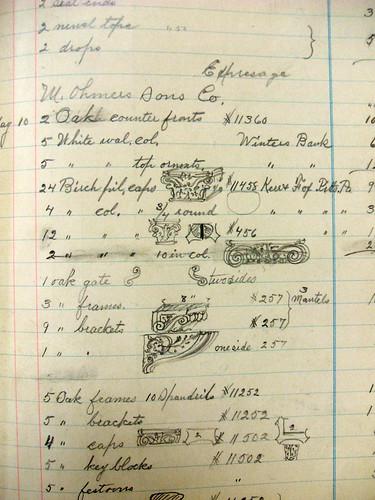 Mittendorf sketches 1902