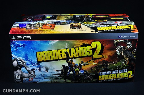 Borderlands 2 Ultimate Loot Chest Limited Edition PS3 Review Unboxing (1)