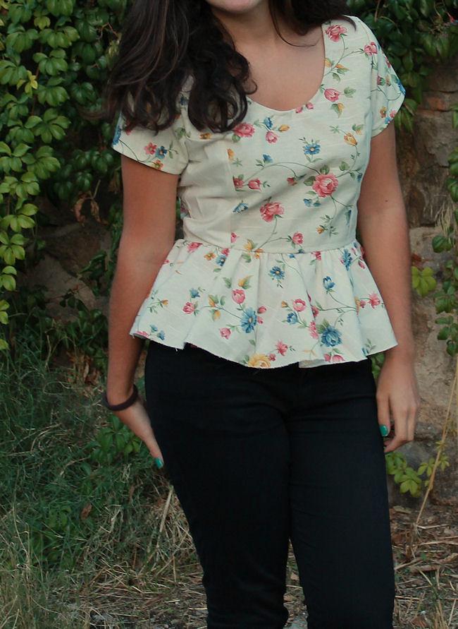 Camisa de flores