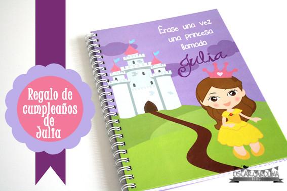 portada album personalizado princesas