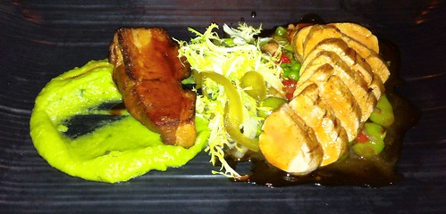 Roasted Pork Tenderloin with Pork Belly