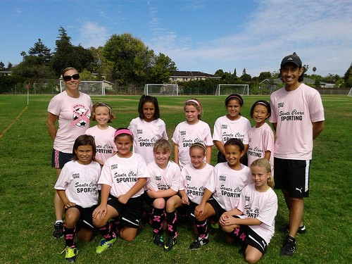 Santa Clara Sporting 03 Girls Team