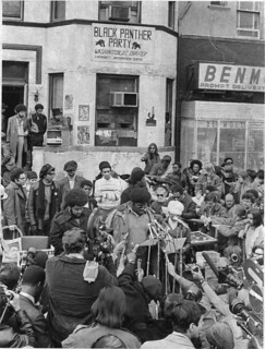 Big Man Speaks to the Press 1970
