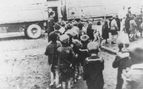 ghetto di Lodz deportazione dei bambini