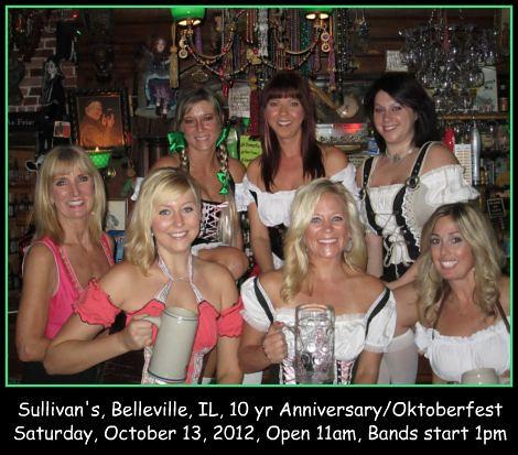 Sullivan's 10-13-12