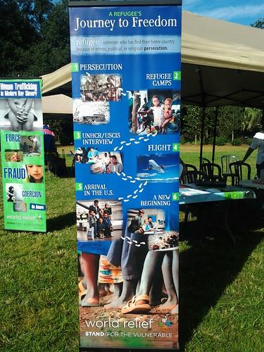 World Relief Jacksonville signage