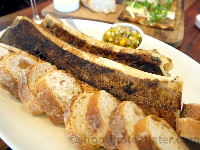 Wildflour Cafe + Bakery- bone marrow P350