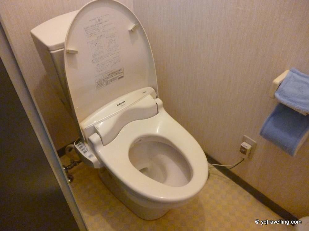 Hotel Maruchu's modern Japanese toilet