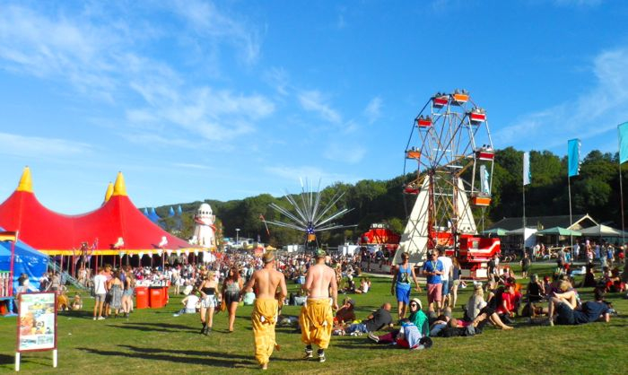 Bestival view