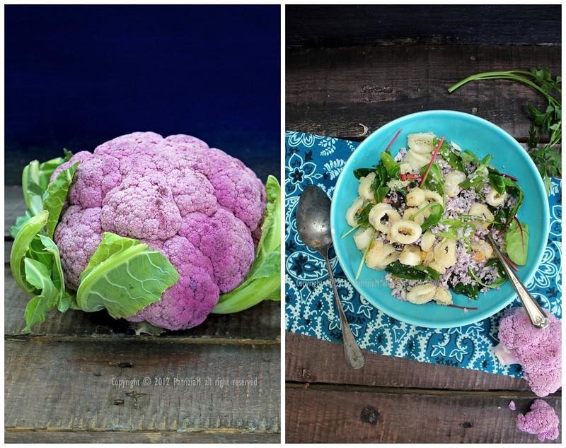 purple cauliflower cous cous