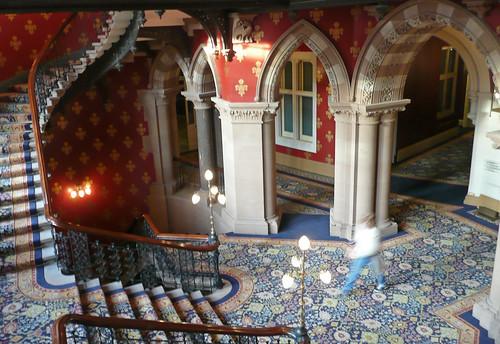 St Pancras Renaissance Hotel - Grand Staircase