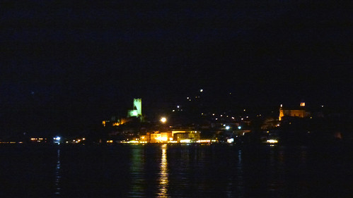 Malcesine in the night