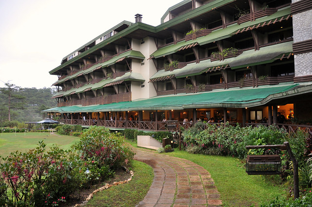Baguio Country Club verandah