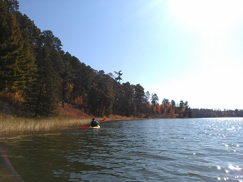 last paddle on itasca.