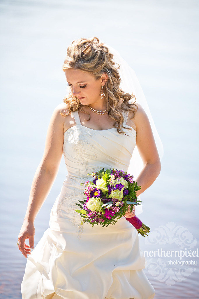 Kaitlyn - Beautiful Bride @ Norman Lake