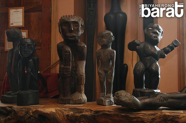 Cordillera Sculpture Museum more wood carved idols statues