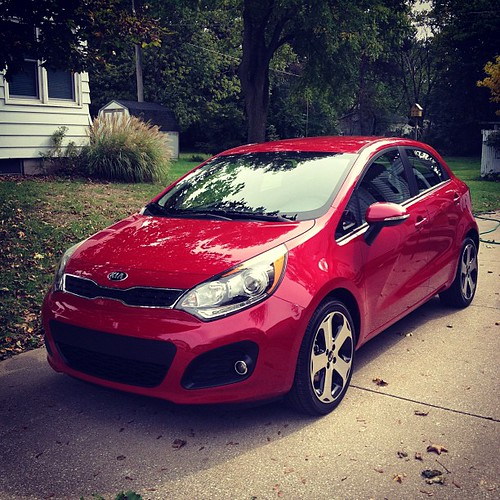 Look what I came home to!!! My #Kia for the week.