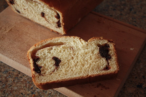 Cinnamon Date Swirl Bread