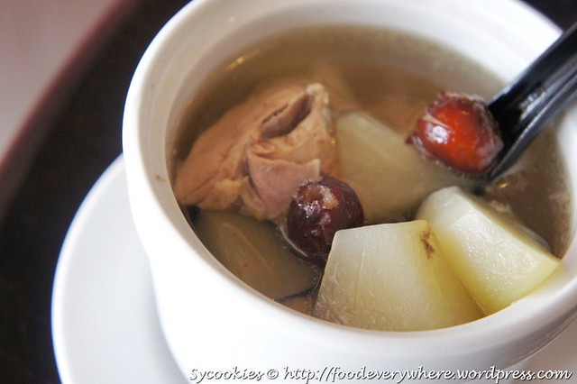 1.soup of the day old cucumber soup RM 4 @ tasty little kitchen (1)