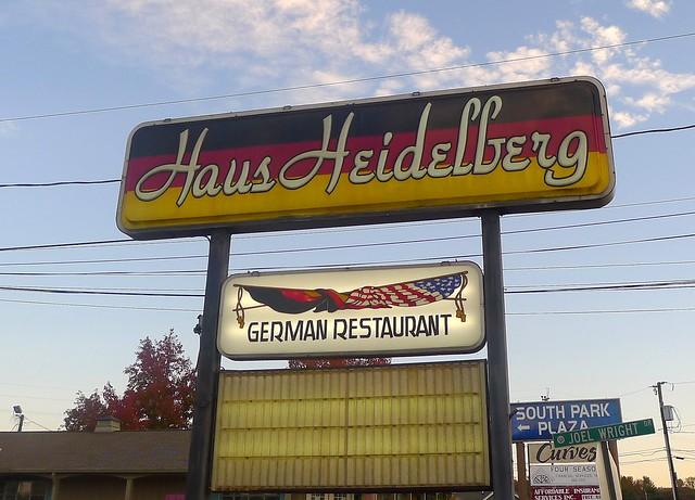 Haus Heidelberg Sign