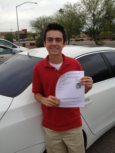 Bailey's driver permit